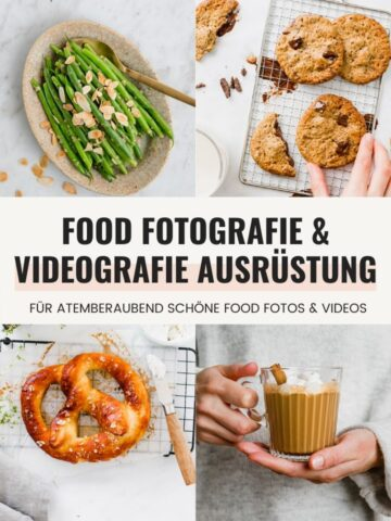 Food Fotografie & Videografie Ausrüstung