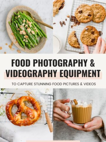 Food Photography & Videography Equipment