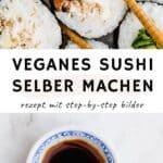 Veganes Sushi Pinterest Pin