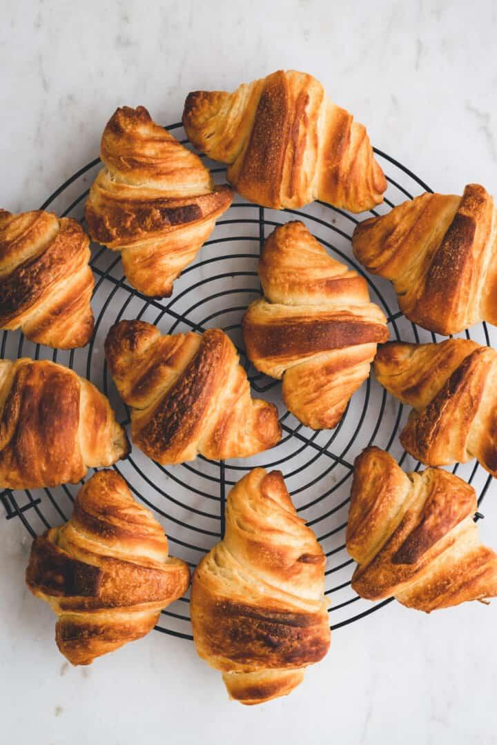 vegan croissant recipe step 19