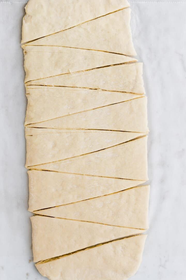 vegan croissant recipe step 13