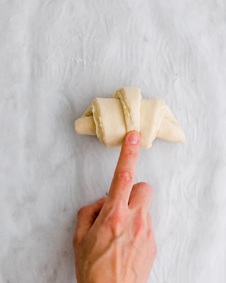 vegan croissant recipe step 16