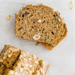 slices of healthy quick bread