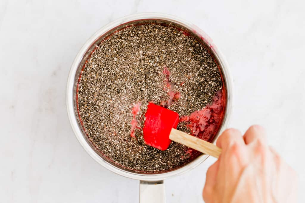 raspberry chia jam recipe step 4