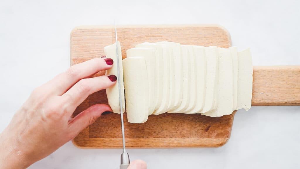 vegan bacon recipe step 1