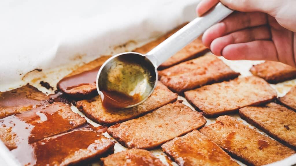 vegan bacon recipe step 5