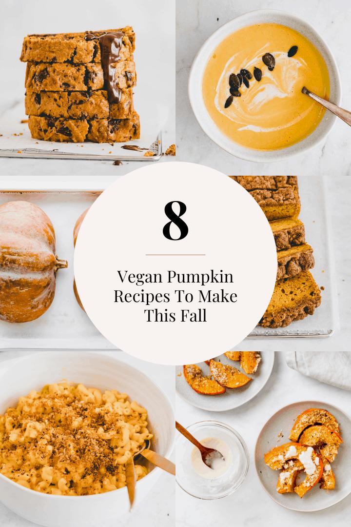 8 vegan recipes to make this fall