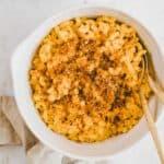 vegan pumpkin mac and cheese
