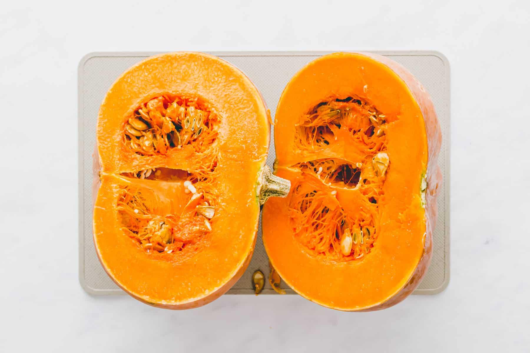 how to make pumpkin puree recipe step 1