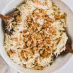 celery root salad with walnuts