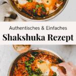 Shakshuka Rezept Pinterest Pin