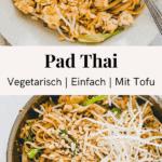 vegetarische pad thai pinterest pin