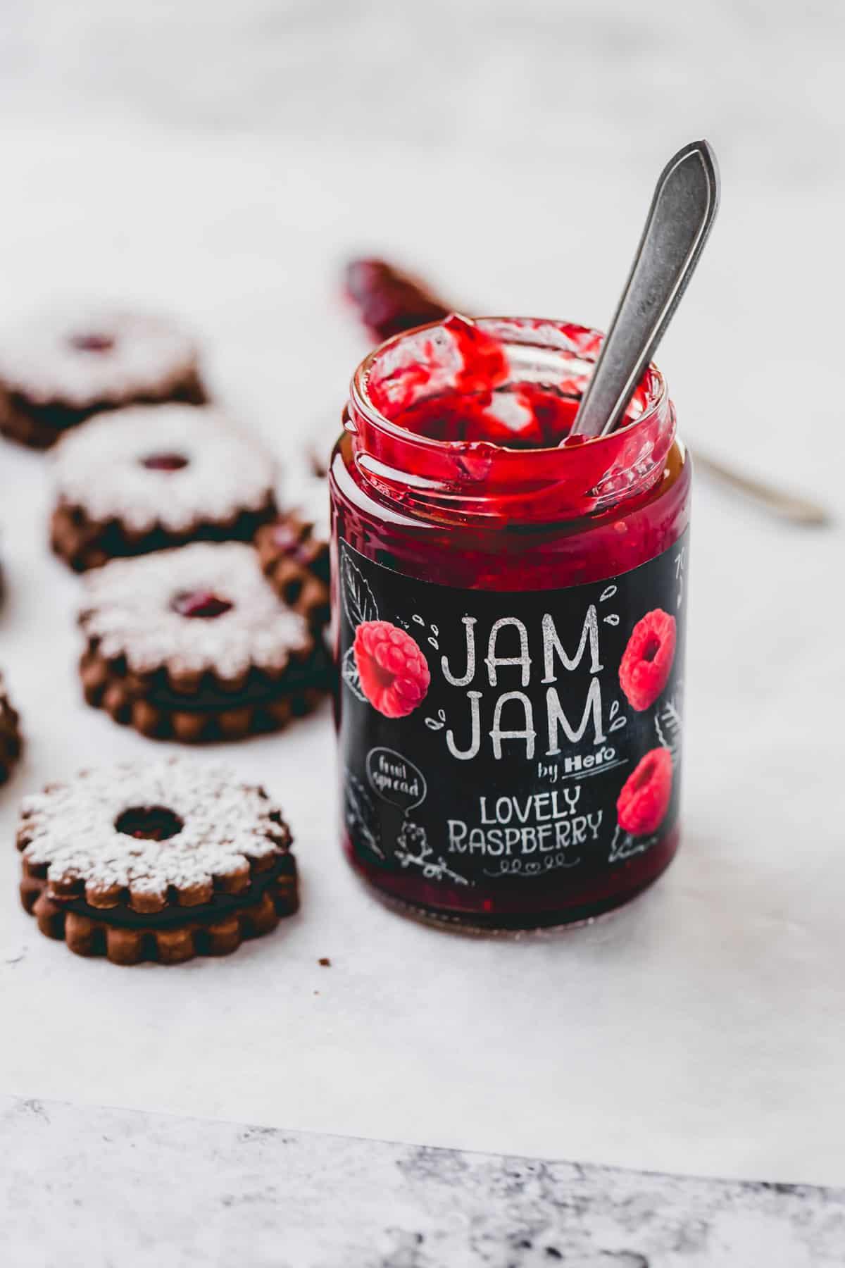 jam jam lovely raspberry konfitüre