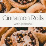 cinnamon rolls pinterest pin