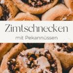zimtschnecken pinterest pin