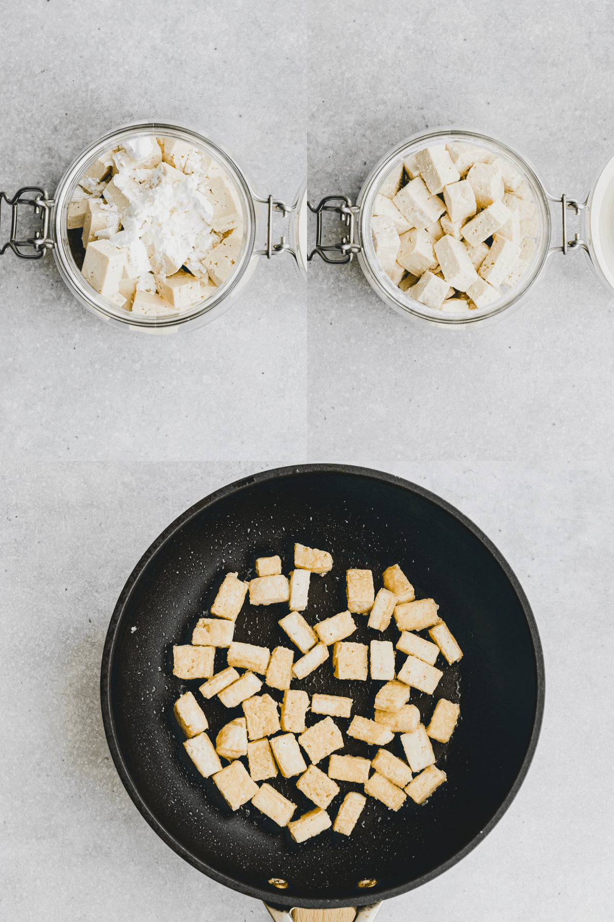 Orange Tofu Recipe Step 1-3