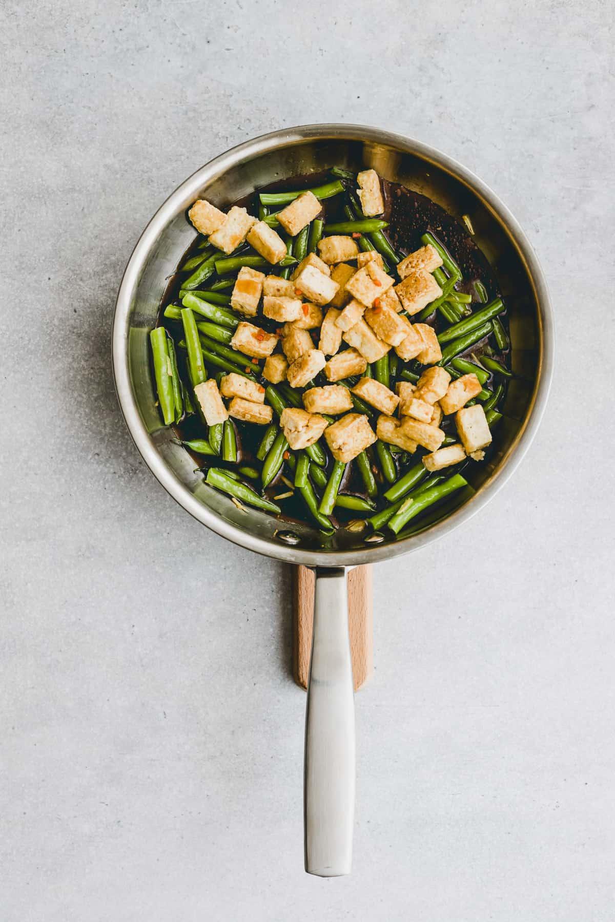 Black Pepper Tofu Recipe Step-7