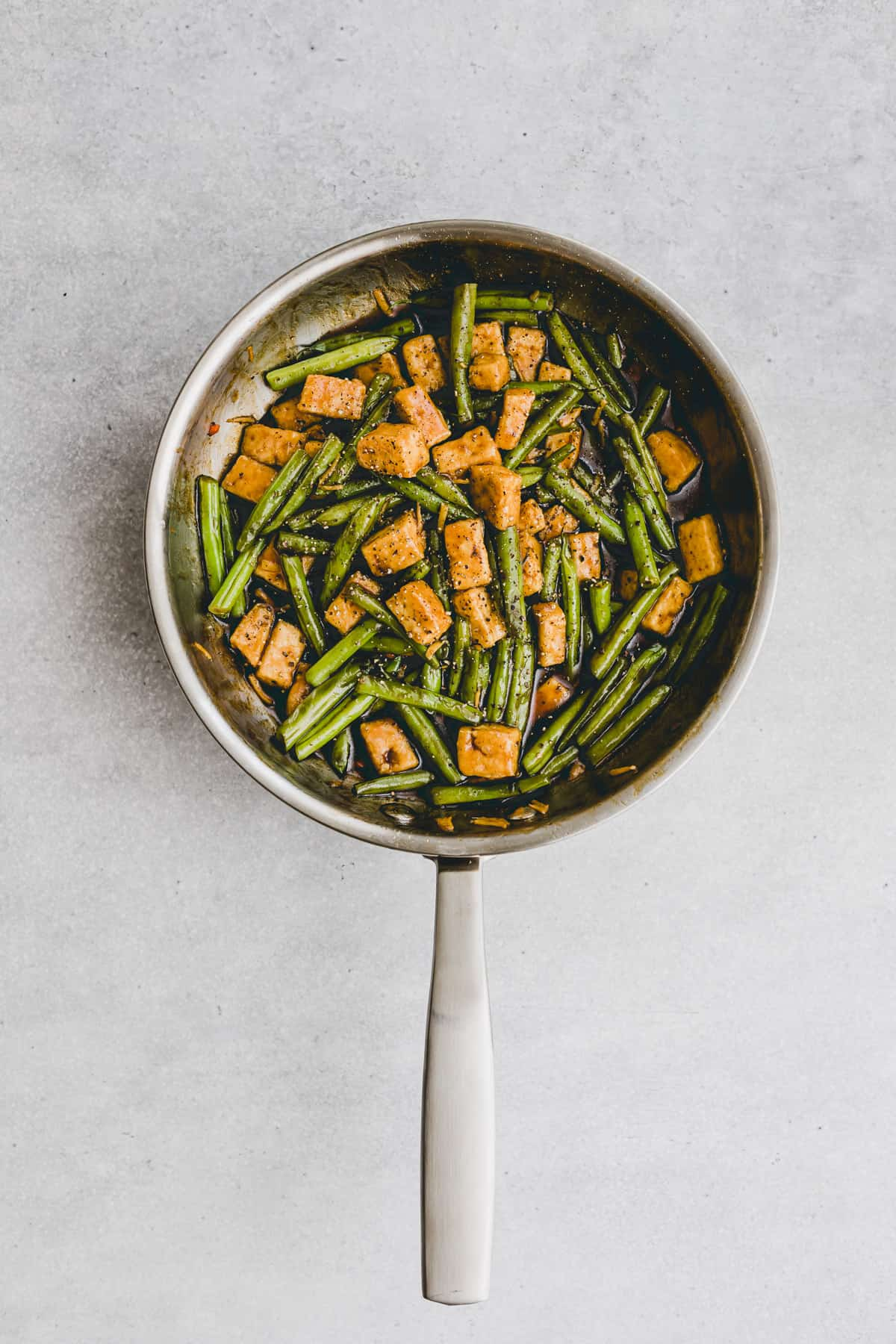 Black Pepper Tofu Recipe Step-8
