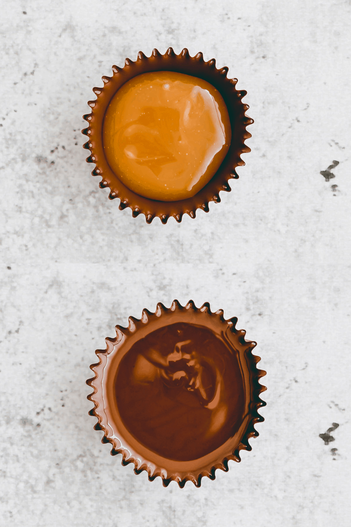 Salted Caramel Chocolate Cups Recipe Step-4-5