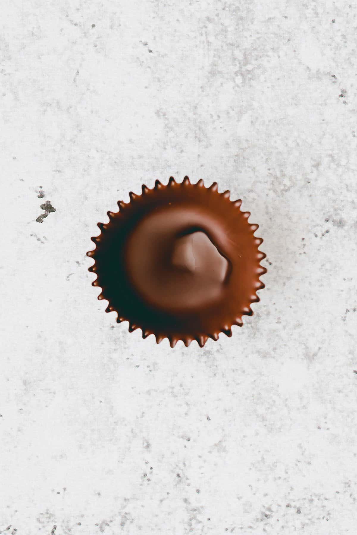 Salted Caramel Chocolate Cups Recipe Step 3