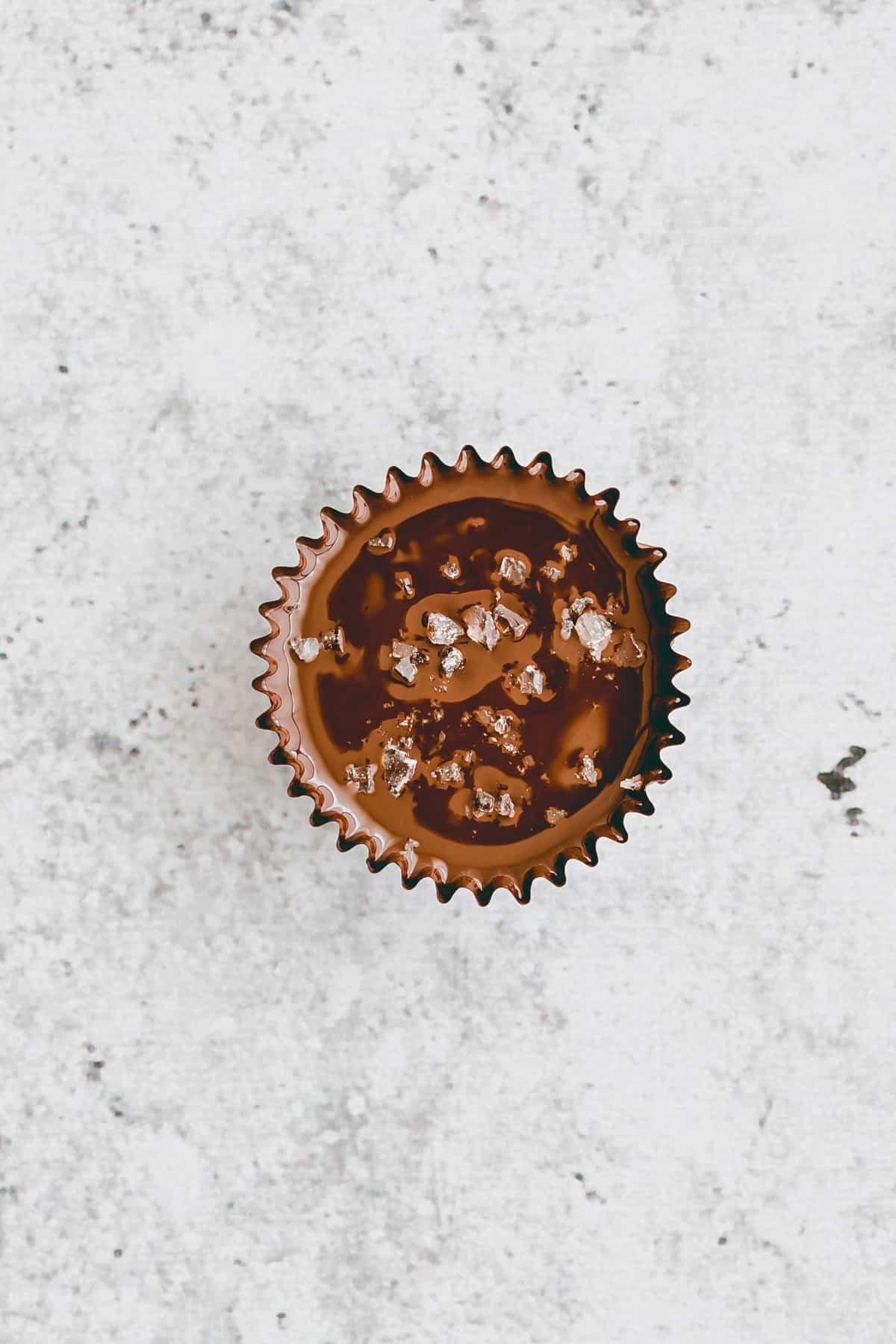 Salted Caramel Chocolate Cups Recipe Step-7
