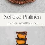 karamell schokolade pralinen pinterest pin