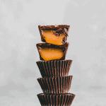 salted caramel chocolate cups pinterest pin