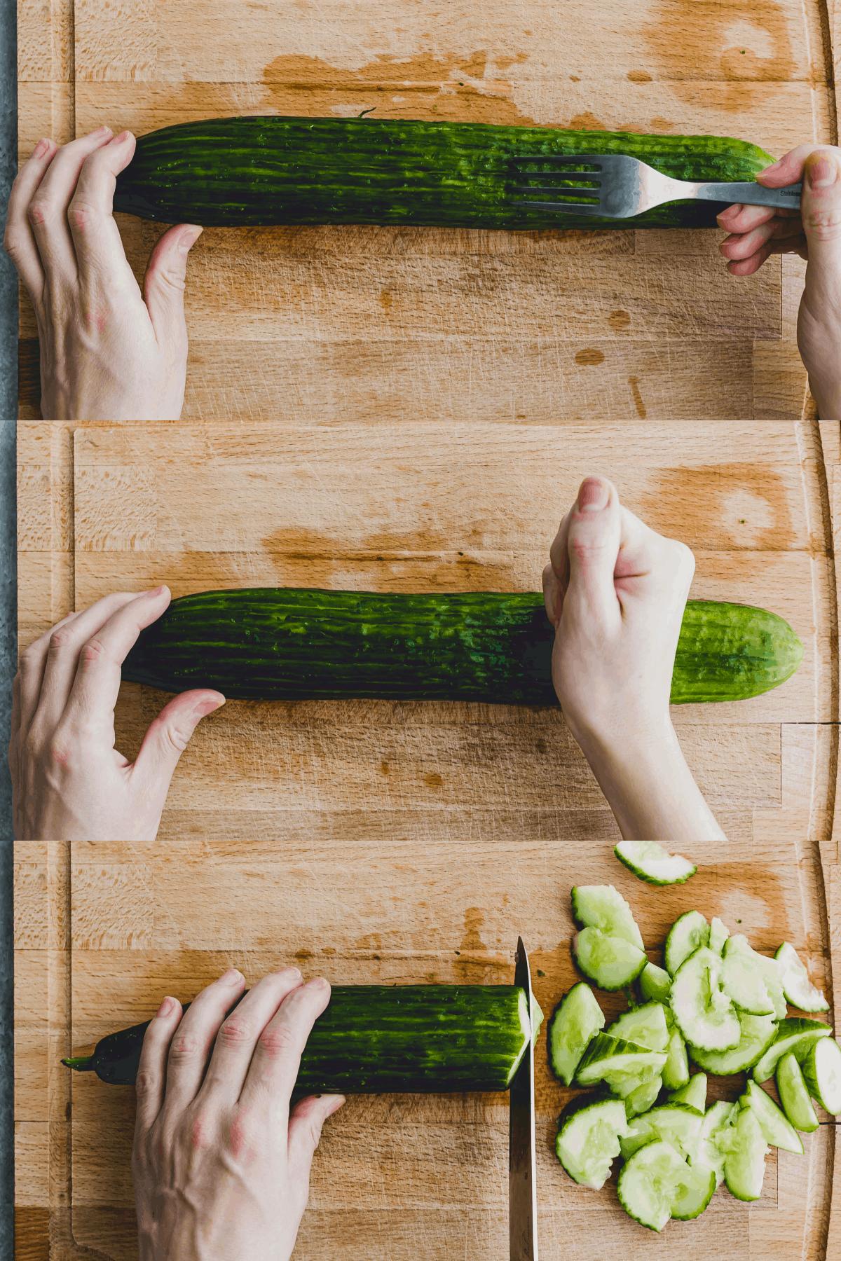 Asian Cucumber Salad Recipe Step-1-3
