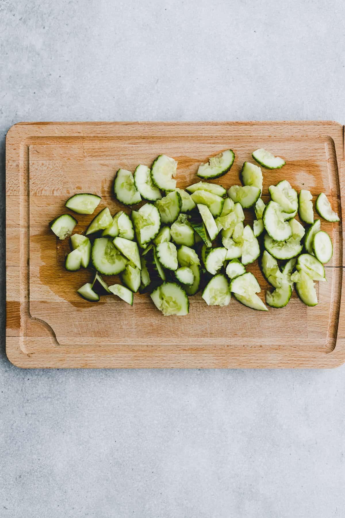 Asian Cucumber Salad Recipe Step-4