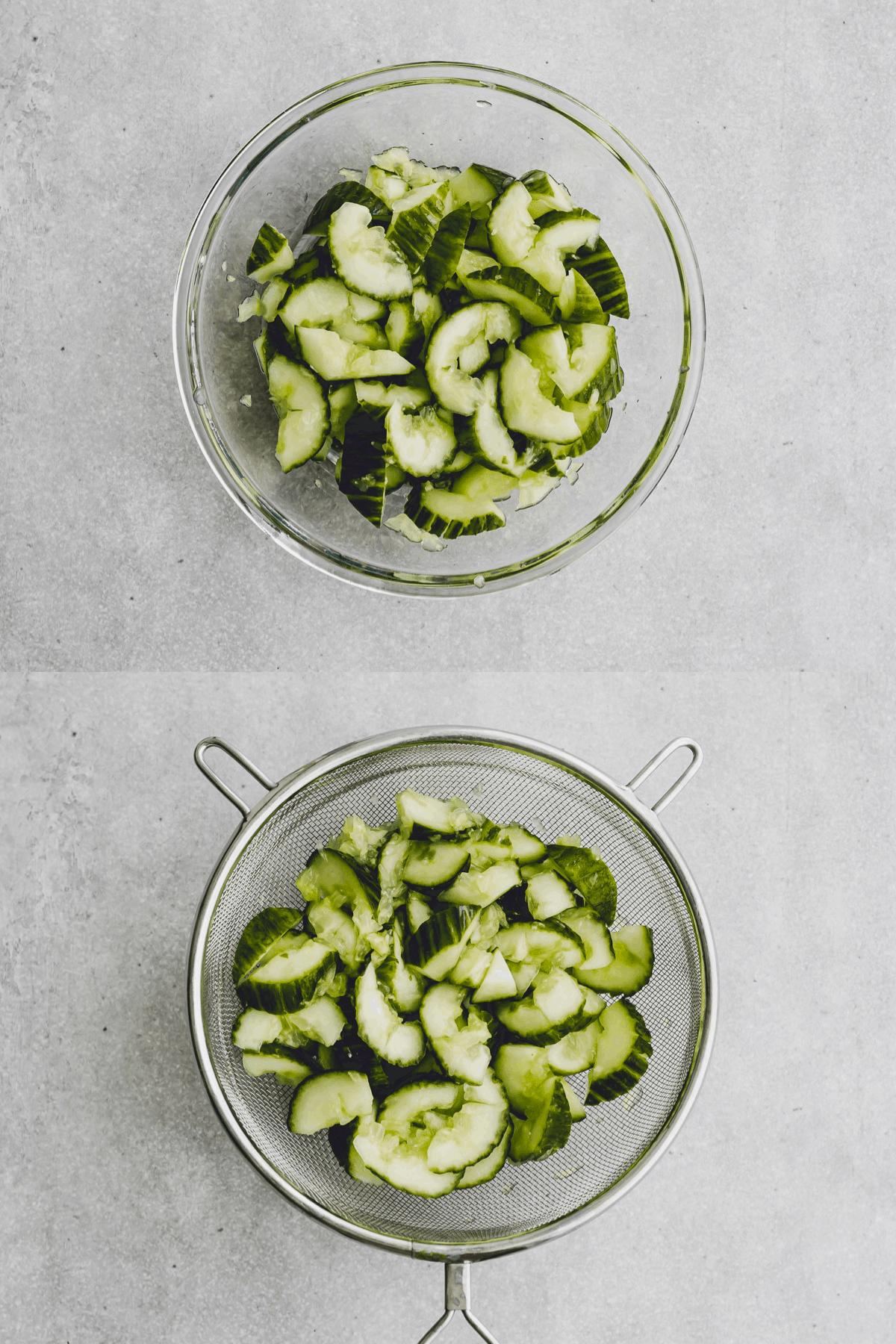 Asian Cucumber Salad Recipe Step-5-6
