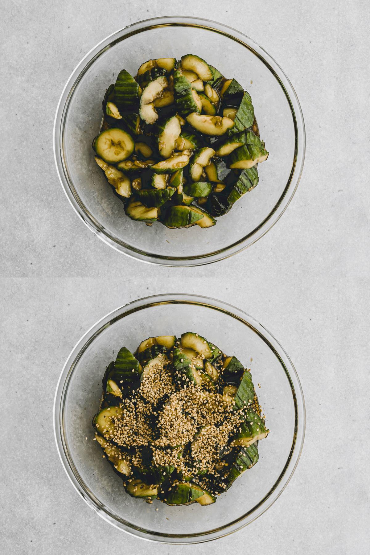 Asian Cucumber Salad Recipe Step-9-10