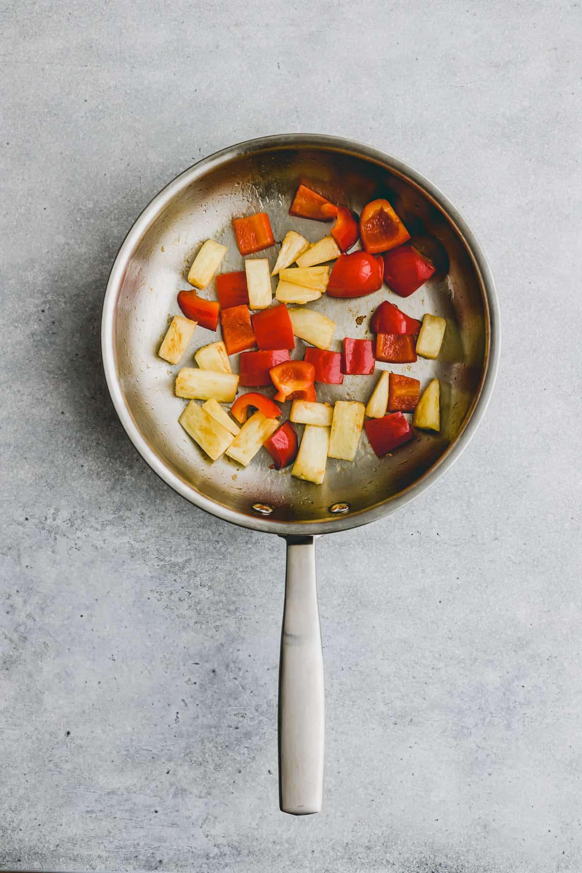 Sweet and Sour Tofu Recipe Step-1