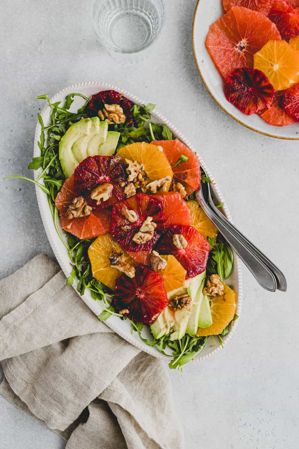 Winter Citrus Salad with Arugula and Avocado