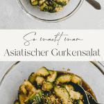 astiatischer gurkensalat pinterest pin