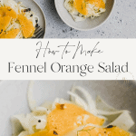 fennel orange salat pinterest pin