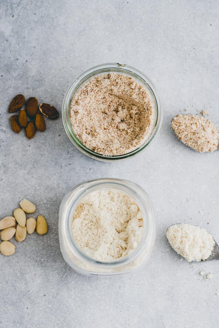 difference almond flour vs almond meal
