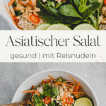 Asiatischer Reisnudelsalat Pinterest Pin 1