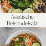 Asiatischer Reisnudelsalat Pinterest Pin 2