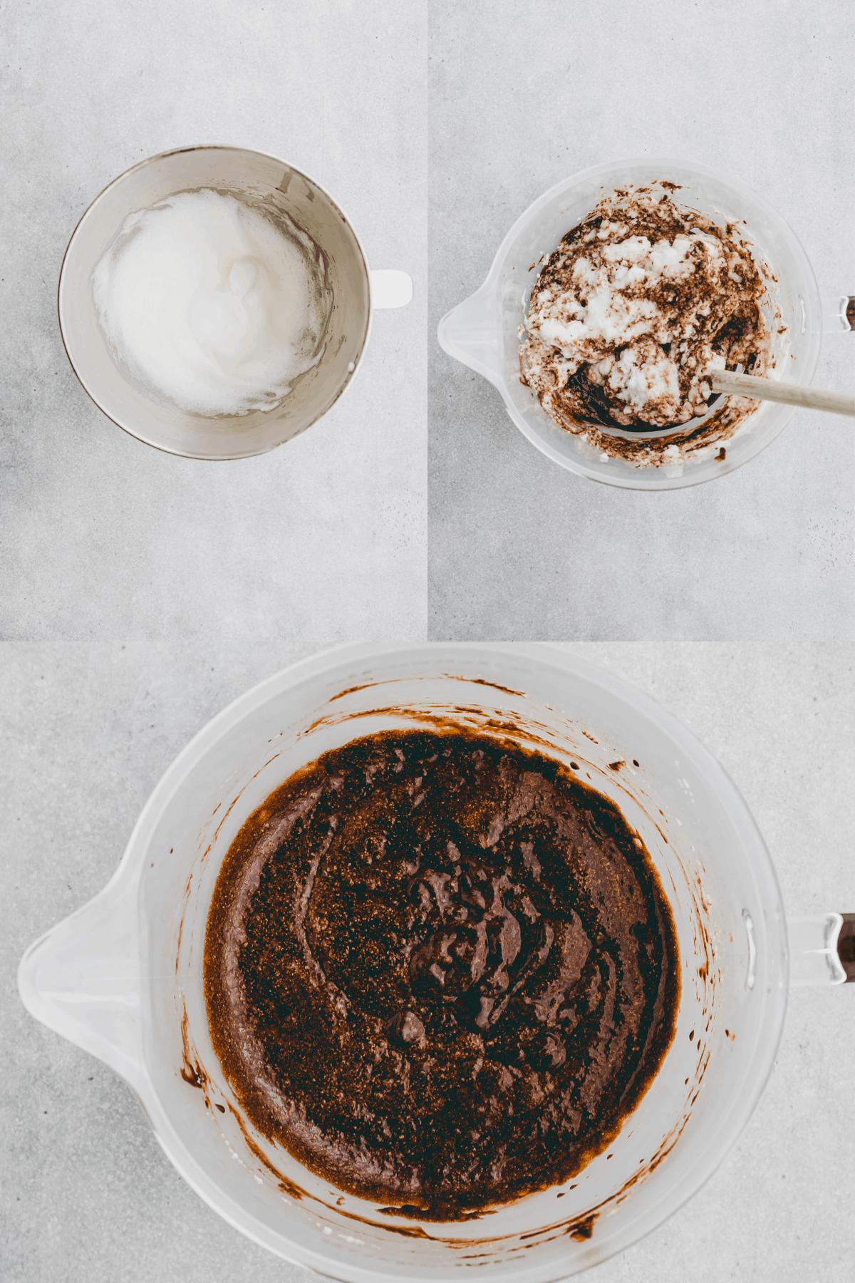 Flourless Chocolate Cake Recipe Step-5-7
