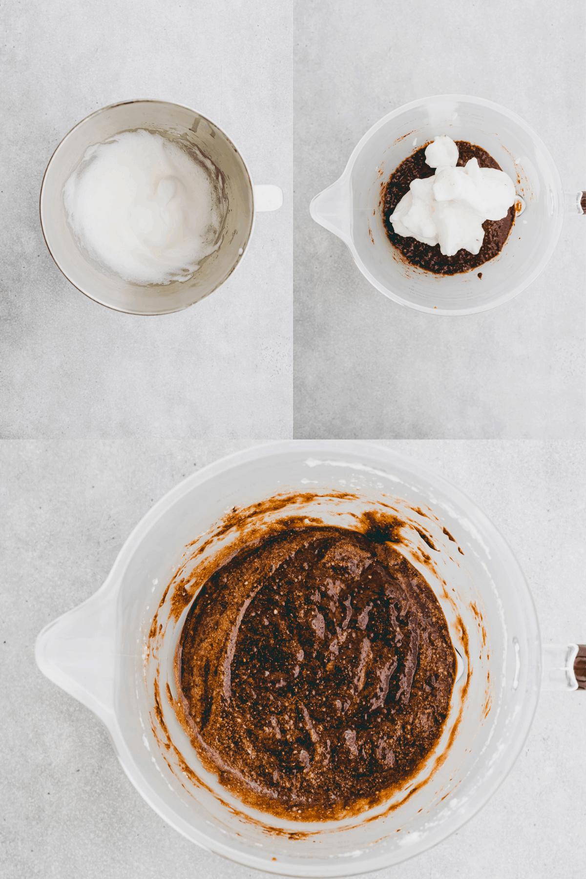 Schoko-Birnen-Kuchen Rezept Schritt-5-7