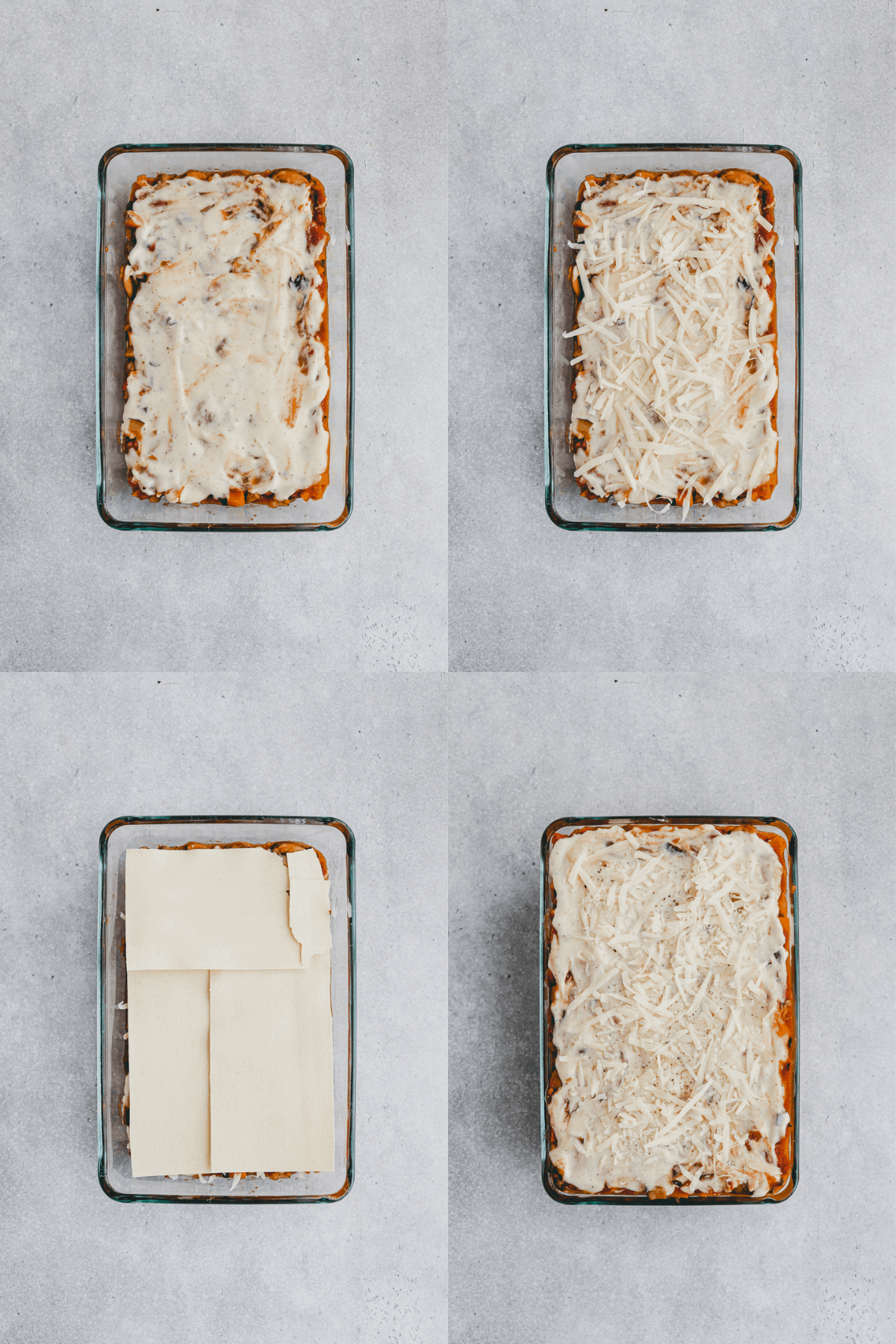 Layer Lasagna Recipe Step 10-13