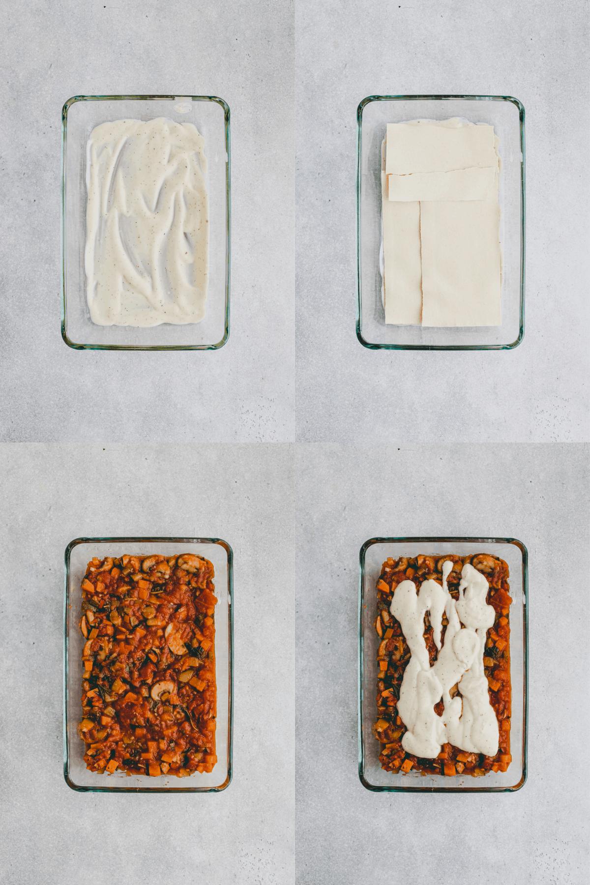 Layer Lasagna Recipe Step 6-9