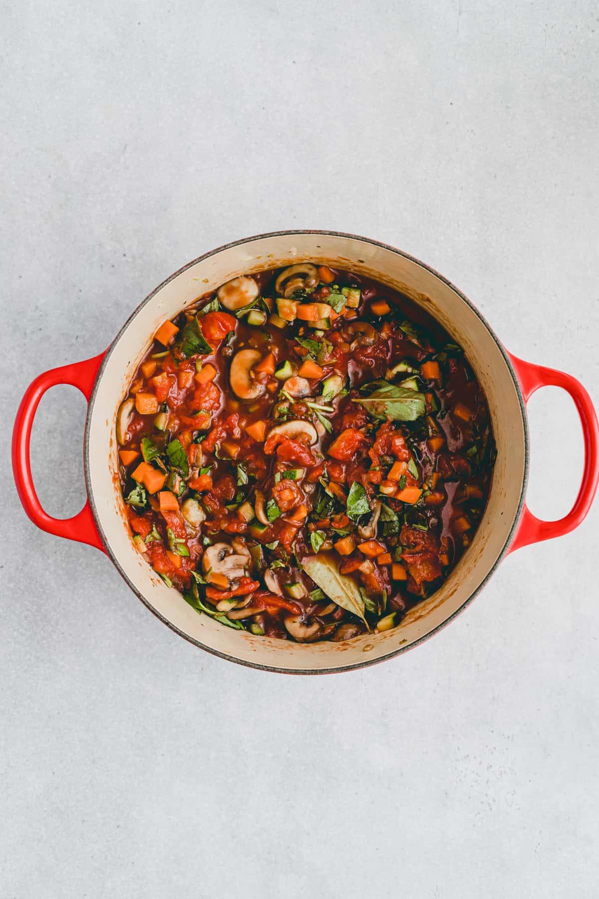 Vegetarian Lasagna Recipe Step 1-5