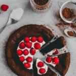 flourless chocolate cake pinterest pin 5
