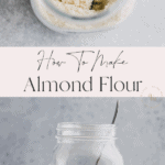 how to make almond flour pinterest pin 1
