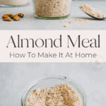 how to make almond meal pinterest pin