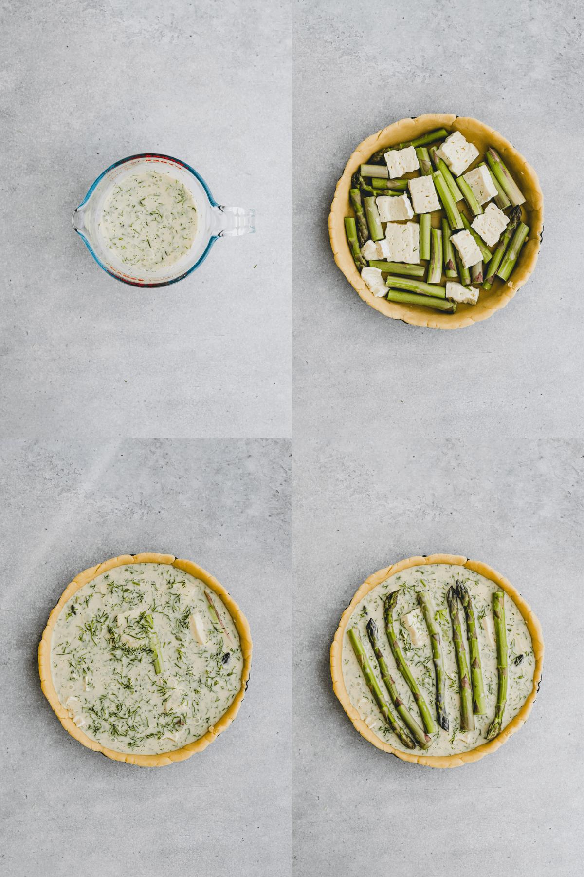 Asparagus Quiche Recipe Step-9-12
