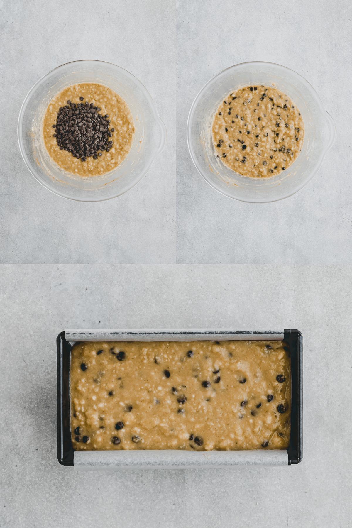 Paleo Banana Bread Recipe Step 5-7