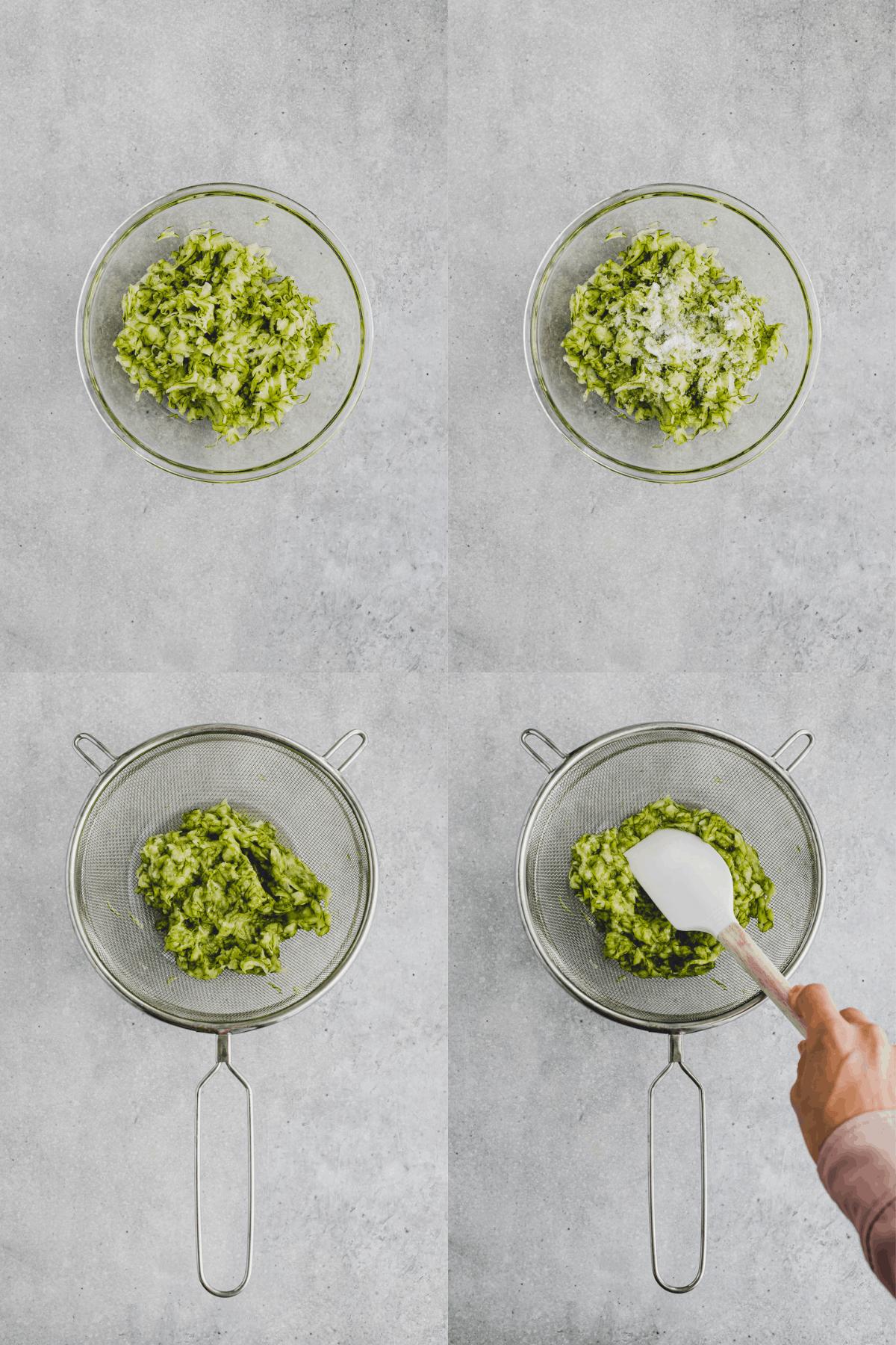 Paleo Zucchini Bread Recipe Step 1-4