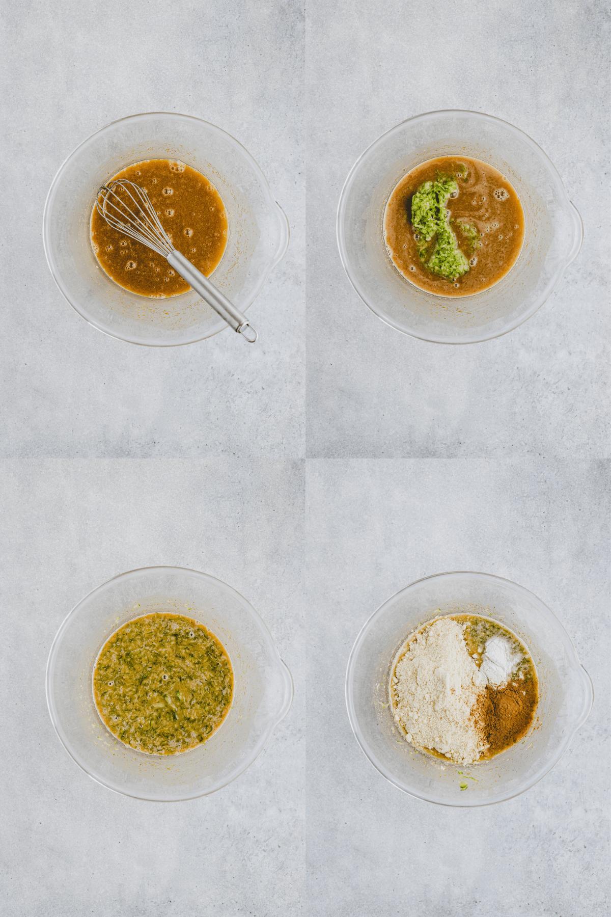 Paleo Zucchini Bread Recipe Step 5-8